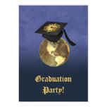 ¡Fiesta de graduación! Invitación 12,7 X 17,8 Cm