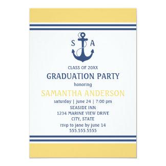 """Fiesta de graduación invitación 5"""" x 7"""""""