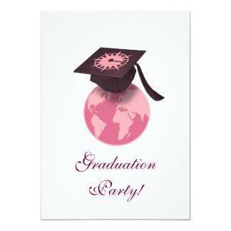 """¡Fiesta de graduación! Invitación 5"""" X 7"""""""