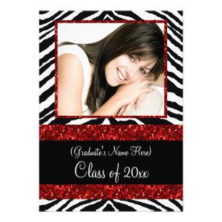 Fiesta de graduación roja de los chicas de la chis anuncio