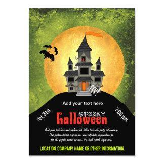 Fiesta de Halloween de la casa encantada Invitación