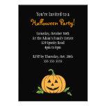 Fiesta de Halloween de la linterna de O de Jack ' Invitaciones Personales