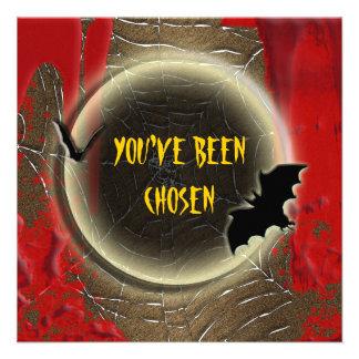 Fiesta de Halloween de la sangre de la luna del pa Anuncio