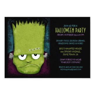 """Fiesta de Halloween del monstruo de Frankenstein Invitación 5"""" X 7"""""""