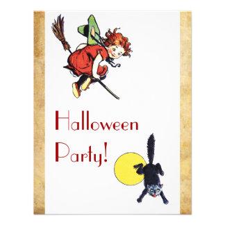 Fiesta de Halloween del vintage Comunicados