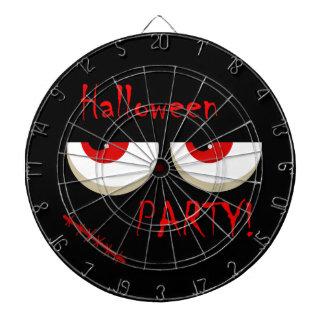 Fiesta de Halloween - el rojo observa al monstruo