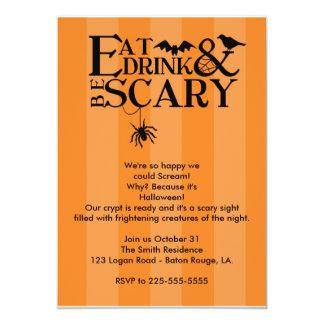 Fiesta de Halloween Comunicado Personal