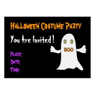 Fiesta de Halloween - invitación Tarjetas De Visita Grandes