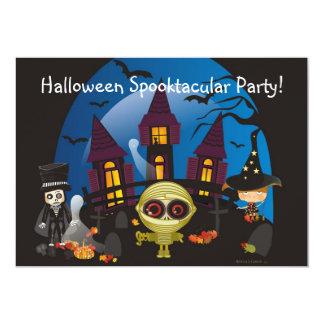 """¡Fiesta de Halloween Spooktacular! Invitación 5"""" X 7"""""""