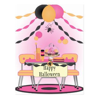 Fiesta de Halloween Postal