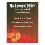 Fiesta de Halloween Tarjetas Publicitarias
