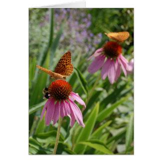 Fiesta de jardín tarjeta pequeña