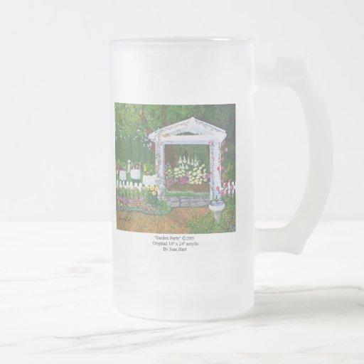 Fiesta de jardín taza cristal mate