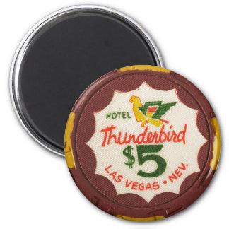Fiesta de juego de la ficha de póker del casino de imán redondo 5 cm