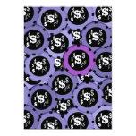 fiesta de juego del casino negro púrpura anuncio