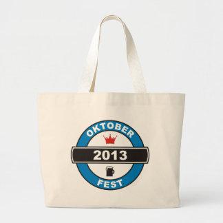 Fiesta de la cerveza 2013 bolsas de mano