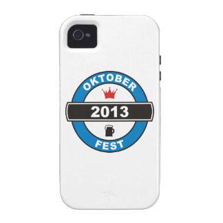 Fiesta de la cerveza 2013 iPhone 4 carcasas
