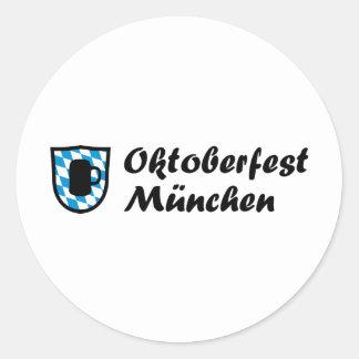 Fiesta de la cerveza Baviera Etiquetas