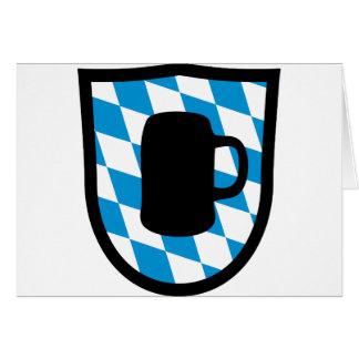 Fiesta de la cerveza Baviera Felicitaciones