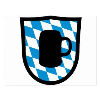 Fiesta de la cerveza Baviera Postales