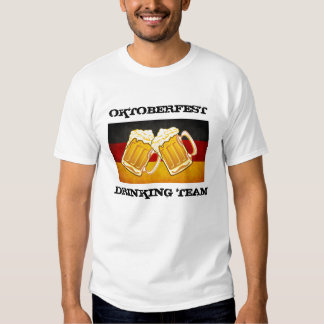 Fiesta de la cerveza de Oktoberfest - equipo de co Playeras