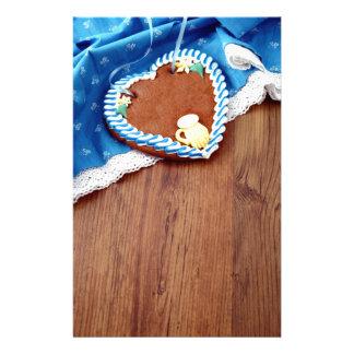 Fiesta de la cerveza Gingerbread Heart Papeleria De Diseño