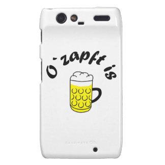 Fiesta de la cerveza O saca del tonel is Motorola Droid RAZR Fundas