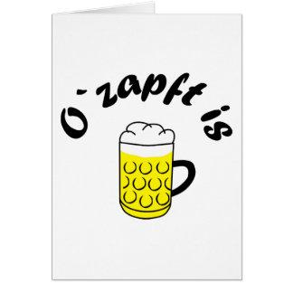 Fiesta de la cerveza O saca del tonel is Felicitaciones