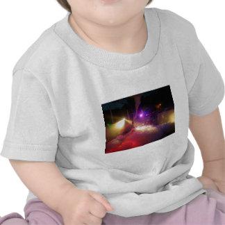 Fiesta de la espuma del laser camisetas