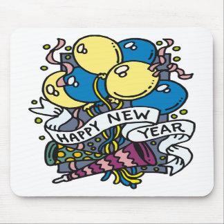 Fiesta de la Feliz Año Nuevo Alfombrillas De Ratón