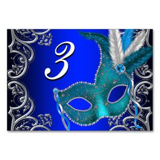 Fiesta de la mascarada del azul real