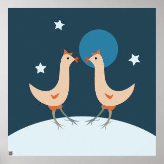 Fiesta de la noche de las gallinas poster