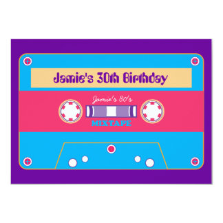 fiesta de la nueva ola de Mixtape de los años 80 Comunicado Personal