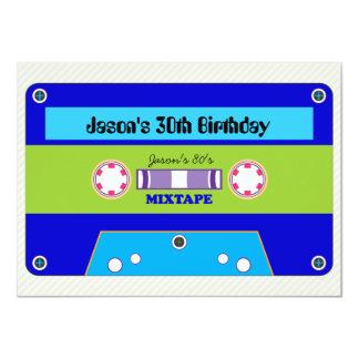 fiesta de la nueva ola de Mixtape de los años 80 Comunicados Personalizados