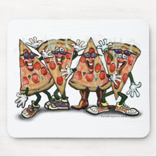 Fiesta de la pizza alfombrilla de raton
