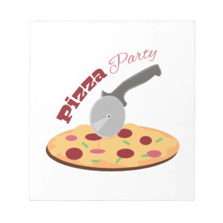 Fiesta de la pizza libretas para notas