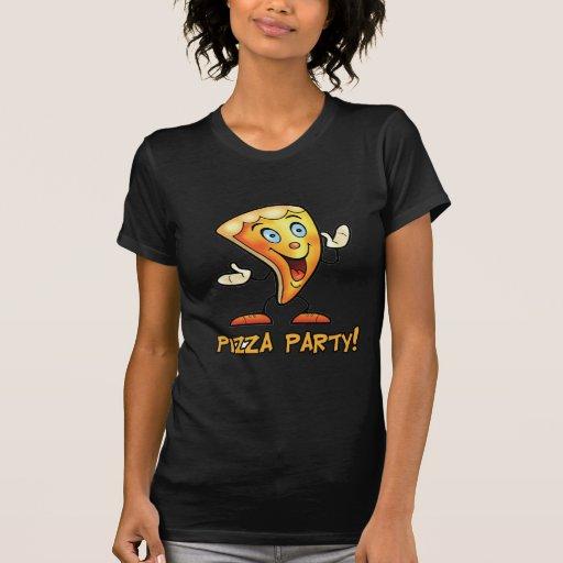 ¡Fiesta de la pizza! Camisetas