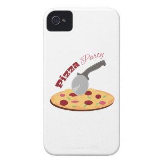 Fiesta de la pizza carcasa para iPhone 4 de Case-Mate