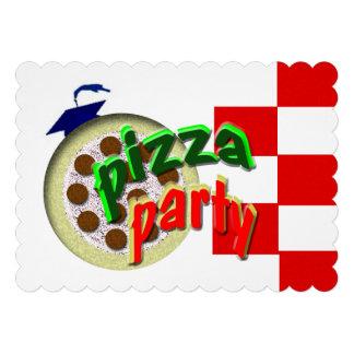¡Fiesta de la pizza de la graduación!!!! Anuncios Personalizados