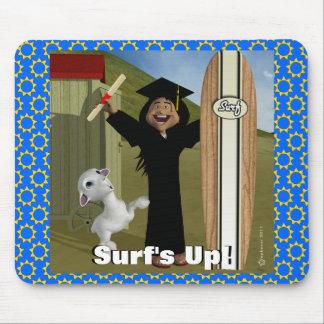 ¡Fiesta de la playa de la graduación! Tapetes De Raton