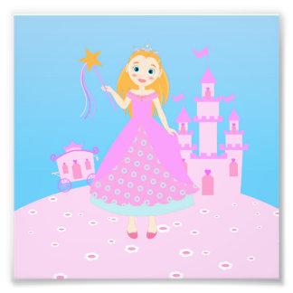 Fiesta de la princesa cumpleaños fotografía