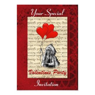 Fiesta de las tarjetas del día de San Valentín del Invitacion Personalizada