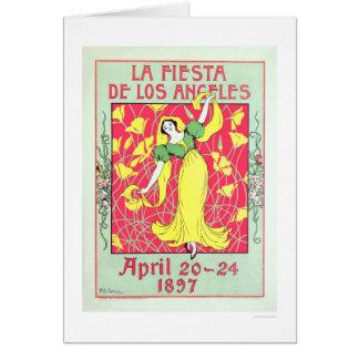Fiesta de Los Ángeles 1897 del La Felicitación