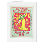 Fiesta de Los Ángeles 1897 del La Tarjeta De Felicitación