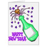 Fiesta de los Años Nuevos de las camisetas del fie Felicitación
