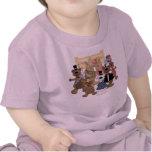 Fiesta de los Años Nuevos de los osos Camisetas