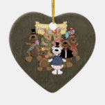 Fiesta de los Años Nuevos de los osos Ornamento De Reyes Magos