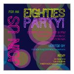 ¡Fiesta de los años ochenta! Invitación