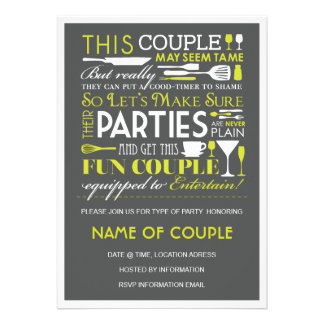 Fiesta de los pares invitaciones personalizada
