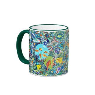 Fiesta de los pescados taza de dos colores